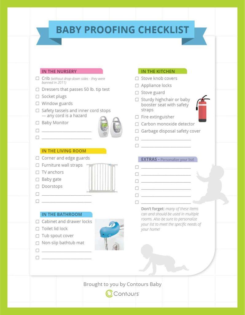 BabyProofing Checklist