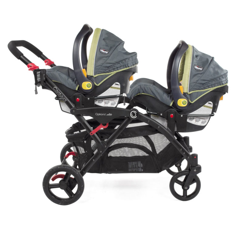 Chicco Car Seat Adapter Double Strollers