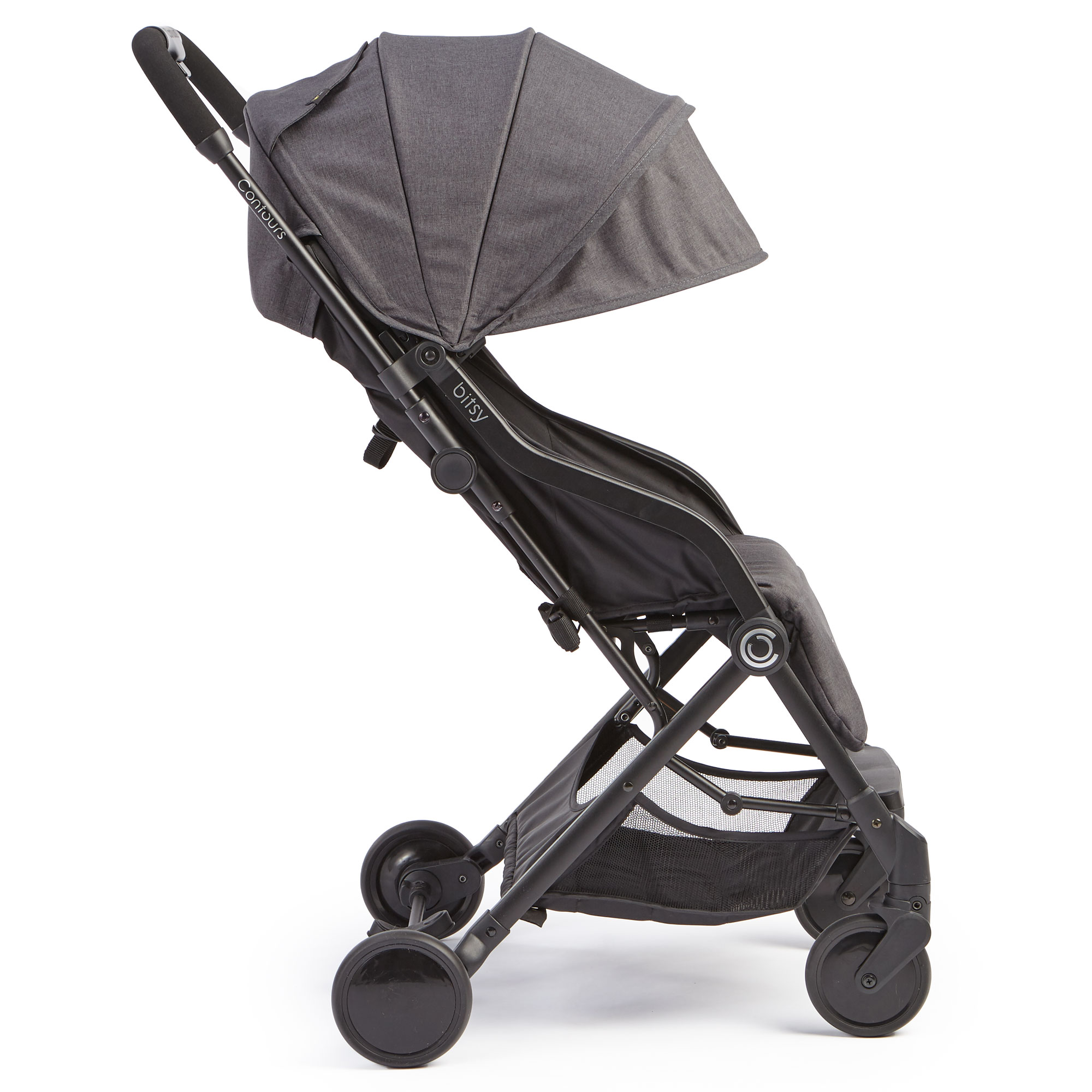 Contours Bitsy Compact Fold Stroller - Right Side View