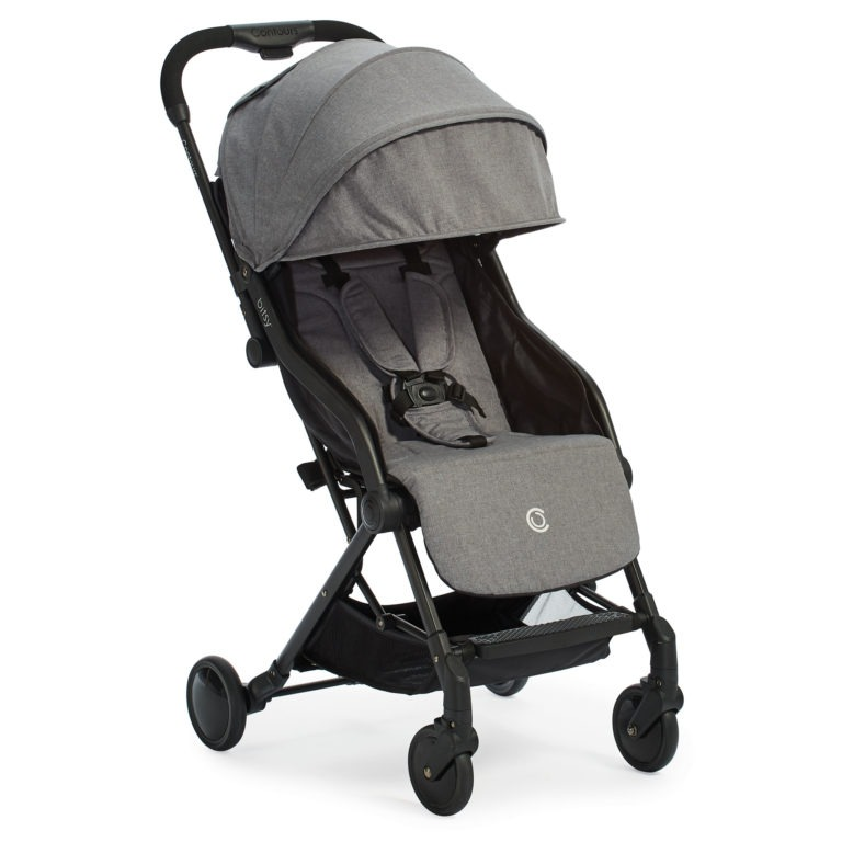 Contours Bitsy Compact Fold Stroller - Granite Gray