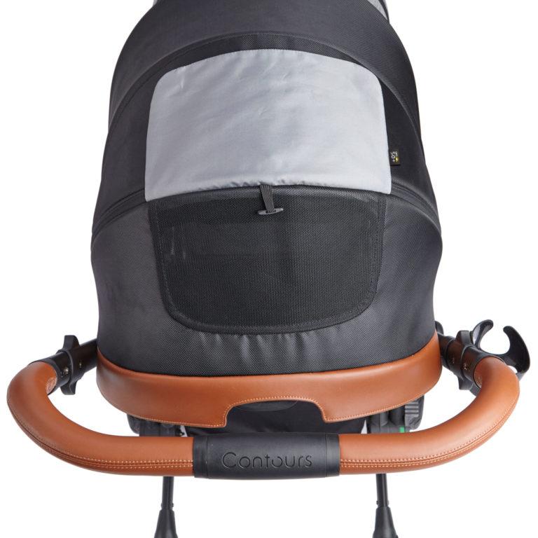 Contours Curve Double Stroller Exclusive Edition - Jet Black