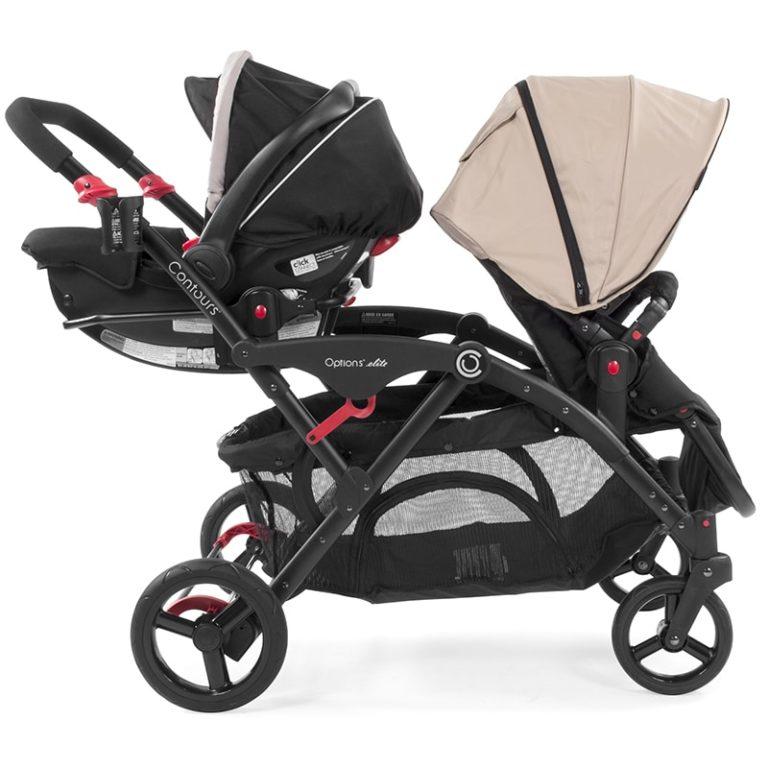 Contours Graco SnugRide Click Connect Infant Car Seat Adapter ZY020 BLK 2