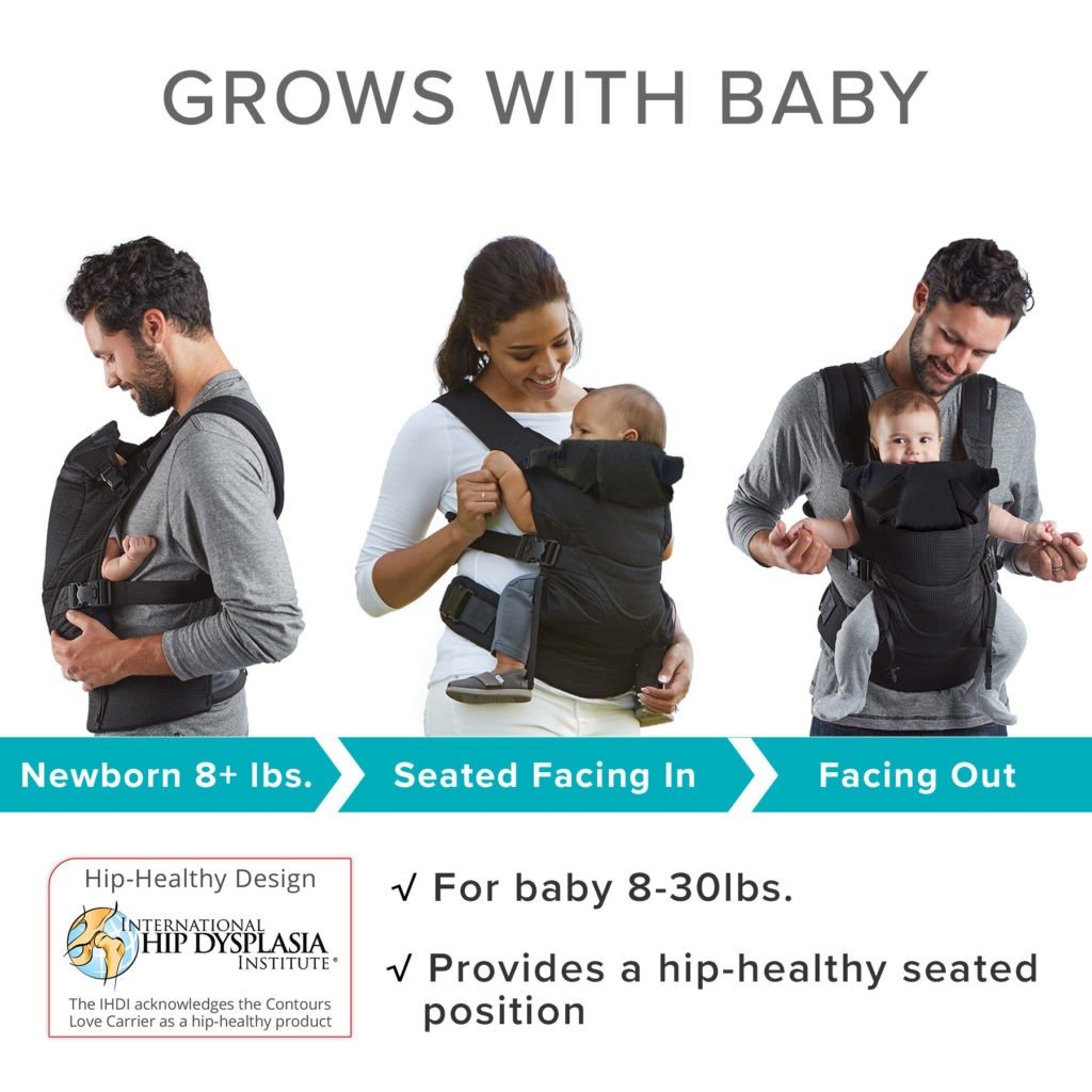Contours-Love-Baby-Carrier_Grows with Baby_ZC001