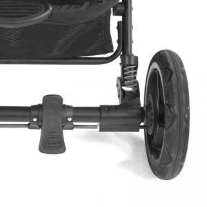 Back brake on stroller