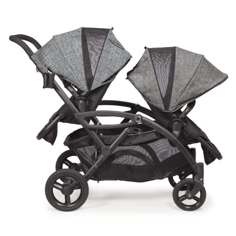 Contours Options Elite Tandem Stroller - Graphite Gray