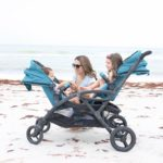 Contours Options™ Elite Tandem Stroller - Aruba Teal
