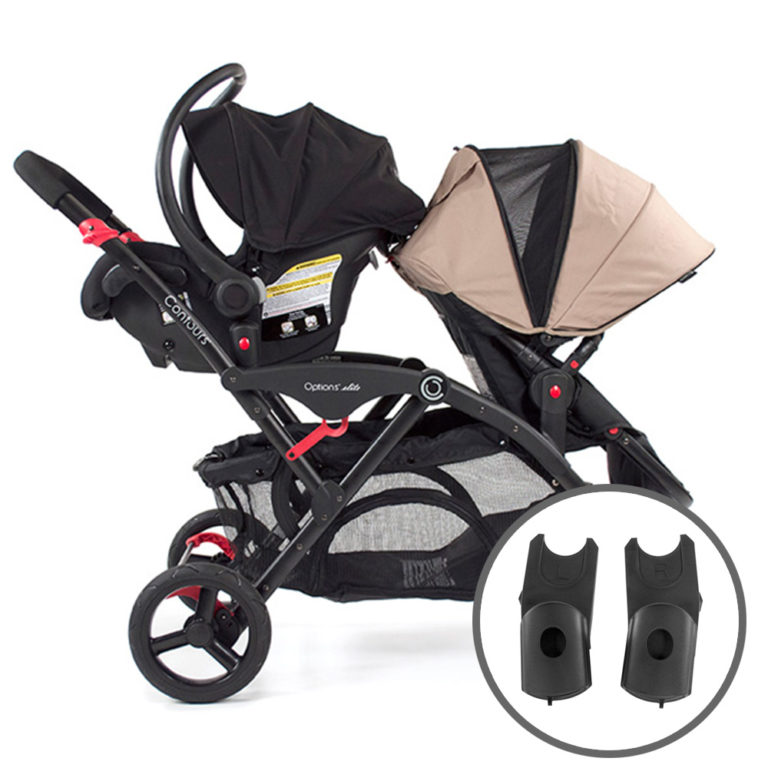 Maxi-Cosi/Nuna/Cybex Car Seat Adapter - Black