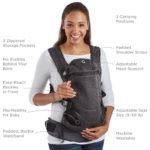 Contours Love® 3 Position Baby Carrier - Black