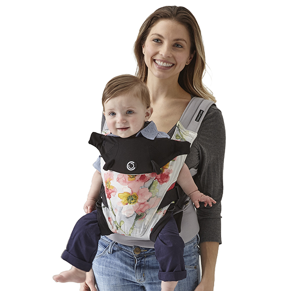 81aad0b8499 Contours Love 3-in-1 Baby Carrier - Pink Bouquet