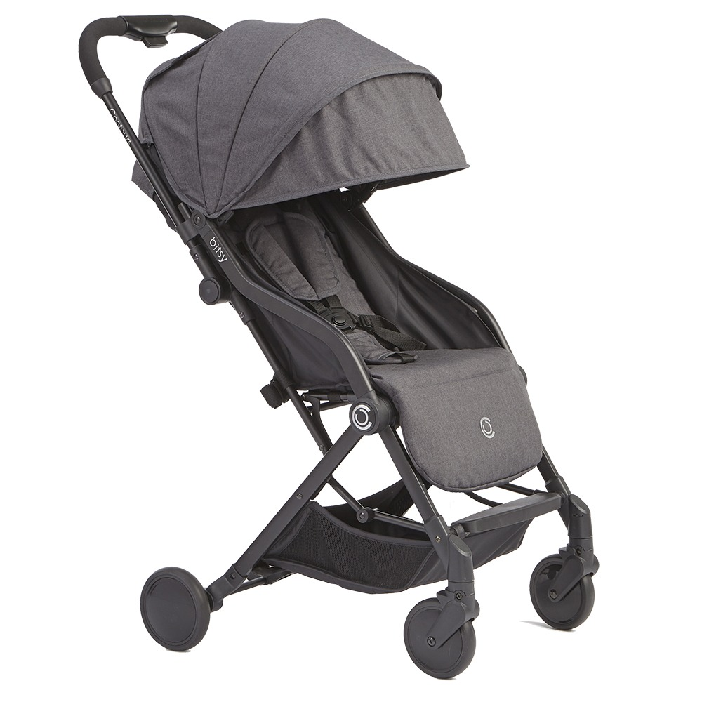 Contours Bitsy Compact Fold Stroller - Front Angle View