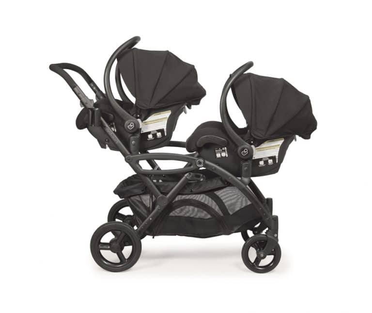 Double Stroller With Two Car Seats, Double Strollers With Car Seats