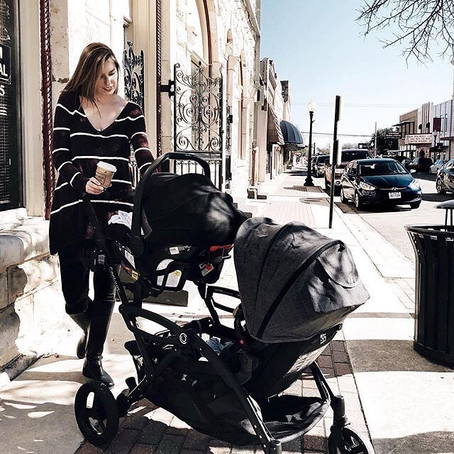 Options Elite Double Stroller Twin Strollers Tandem