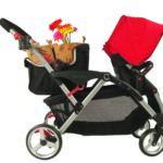 Contours Stroller Shopping Basket - Black