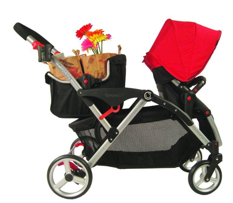 Stroller Shopping Basket - Black