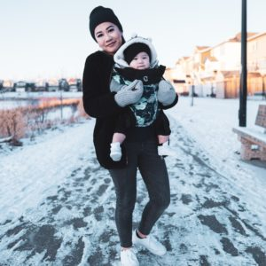 Winter Babywearing: From Chilly to Frigid