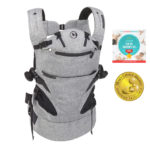 Contours Journey 5-in-1 Baby Carrier - Graphite