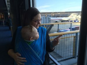 Babywearing is a Lifesaver During Air Travel
