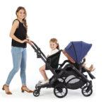 Contours Curve Sit & Boogie™ Jump Seat & Platform - Black