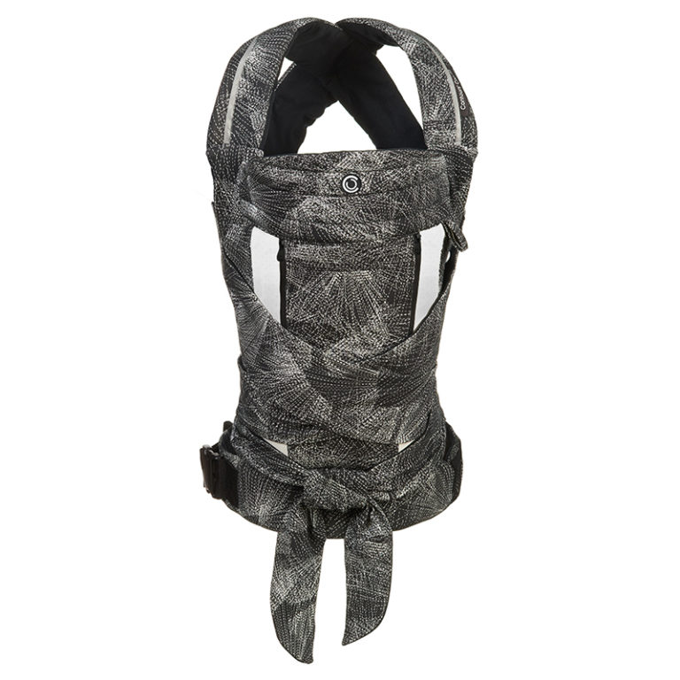 Contours Cocoon Buckle-tie Carrier in Galaxy Black style