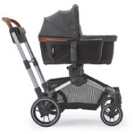 Element Stroller with the Bassinet attached using the Bassinet Adapter