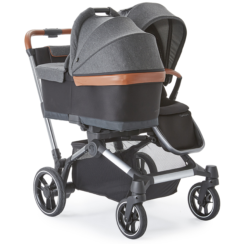 Element stroller using the Bassinet and stroller seat mode
