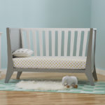 Rockwell crib in a Daybed mode